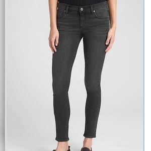 Gap Always Skinny Black Jeans Short